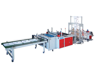 High Speed Jumbo Roller Bottom Sealing Bag Making Machine